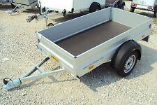 Humbaur HA 752111 ohne Klappe vorne,  ALU- Pkw- Anhänger 750 kg, Sofort