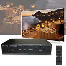 4 Channel TV Video Wall Controller Video Wall Processor 2x2 1x4 HDMI DVI VGA USB