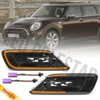 Euro Smoked Sequential LED Side Marker Indicator Lamp for Mini F54 Clubman S JCW