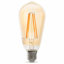 LED Lampe ST64 E27 | gold getönt | 3.5W 320lm 2100K | lange Filamente | dimmbar