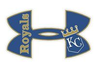 Outdoor pick QTY Royals Teams Combined Decal Cool  Indoor Kansas City Chiefs