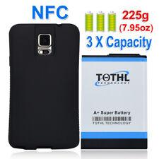 TQTHL Samsung Galaxy Note 4 11800mah Super Extended Battery+Black TPU Case