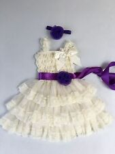 Flower Girl Dress girl Lace dress Baby Lace Dress Rustic Country size available