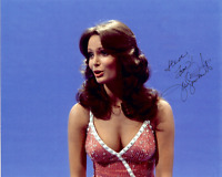 JACLYN SMITH Hand Signed Photo 8 x 10 Color Authentic Autograph To Steve