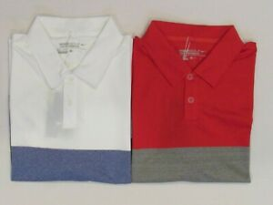 NEW MEN'S NIKE GOLF FASHION BOLD STRIPE POLO SHIRT, PICK A SIZE AND COLOR, $70