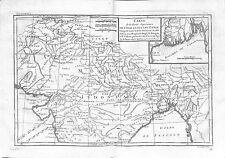 Antique maps, Carte de la partie superieure de l'Inde en deca du Gange, …