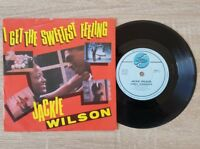 "Jackie Wilson: I Get The Sweetest Feeling ~ Vintage UK 7"" Vinyl Single ~ EX/EX"