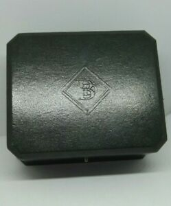 Vintage Boodle and Dunthorne British Racing Green Watch Box pre 2004