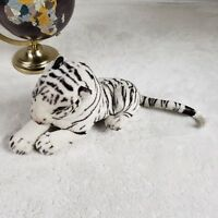 White Tiger Plushie Stuffed Animal Beanie Collector