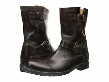 Men's Bed Stu Ashton Teak Rustic Oxidized Leather SZ 11 MSRP 295$