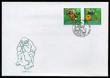 Liechtenstein 1997 FDC Mi-Nr. 1145-1146 Europa: Sagen und Legenden
