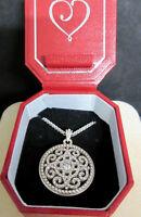 BRIGHTON Illumina Filigree w Swarovski Crystal Necklace NWT $78