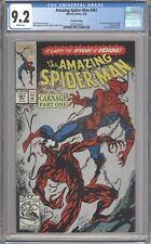 Amazing Spider-Man #361 [Second printing] (1992) CGC 9.2 White pages 3802568004