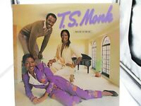 T.S. Monk – House Of Music - Mirage Records - WTG 19291 - LP 1980 VG+ cover VG+