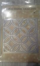 Gina Marie designs metal cutting dies - Quilt die set #4 - Circles