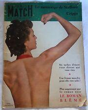 Magazine PARIS MATCH n°28 / Oct. 1949 / Danielle DARRIEUX / Miss France - Tito