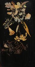 Vintage wall decor dry flowers herbarium