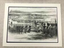 Engraving Original Military Art Prints