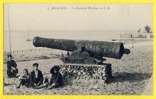 cpa FRANCE 33 - ARCACHON (Gironde) Le CANON du MOULLEAU Animés Gun