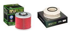 HIFLO FILTRO Oil and Air Filter Kit for YAMAHA XVS1100 V-Star Custom - USA 02-09