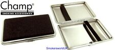 Cigarette Case -- Champ Small Black Glitter 14 King Size -- NEW chks24