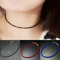 Charm Women Black Crystal Clavicle Choker Chain Necklace Pendant Party Jewelry