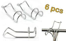 6x STAINLESS STEEL 6MM MARINE DIY FISHING DOUBLE WIRE ROD HOLDER SNAPPER RACK