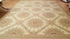 8 x 10 French Aubusson Hand Knotted Wool Needle Point Rug