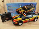 Rare 80's Vintage RC Radio Shack Tandy BMW M1 w/ Box 27MHz 1:15 Scale Pirelli