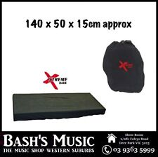 Xtreme Dust Cover For Keyboards Pianos Synthesizers Large 140 x 50 x 15cm approx