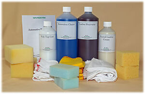 Car Leather Restore Kit / Pigment Paint for 4x4 / MPV, Leather colour restorer