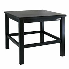 Naturehome Side Table Children's Table Eco Beech Wood Painted Black