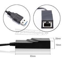 USB 3.0 to 10/100/1000 Gigabit RJ45 Ethernet LAN Network Adapter 1000Mbps FOR PC