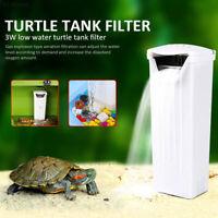 1F71 Efficient Portable Low Water Level Fish Tank Turtle Filter Aquarium Filter