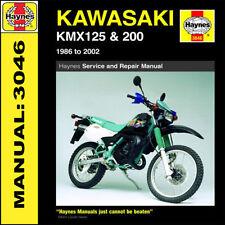 Kawasaki KMX125 & KMX200 1986-2002 Haynes Manual 3046 NEW