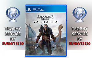 Assassin's Creed: Valhalla PS4 Trophy Trophäen Platin Service