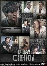 D-Day Korean Drama (4DVDs) Excellent English & Quality!
