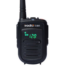 USA Stock New Mini Walkie Talkie iradio CP-168 UHF400-470 Handheld Two Way Radio