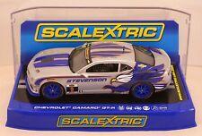 Scalextric Chevrolet Camaro GT-R No9 Matt Bell & Andy Lally (C3596) *New Boxed*