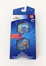 Disney Infinity 2.0 Originals Toys Box Game Discs Stitch & Brave NIP