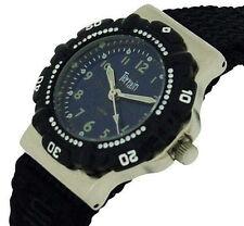 Terrain Boys Black Sports Surf Watch Water Resistant Velcro Strap TV-969L