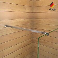 Aica Barra Stabilizzatrice Regolabile 73-120cm Per Rinforzare La Parete Doccia