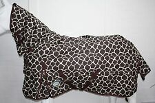 AXIOM 600D WATERPROOF 220g GIRAFFE TURNOUT HORSE COMBO RUG - 6' 9