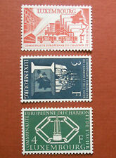 Luxembourg Postage Stamps 1956 European Coal and Steel Community Set MLH