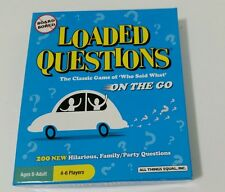 2010 All Things Equal Loaded Questions Hilarious Family/Party Game On The Go
