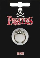 Pirata Teschio e Ossa Incrociate Anello-Costume Capitan Jack Sparrow