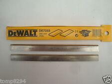 DEWALT DE7333 260MM HSS PLANER THICKNESSER BLADES DW1151 D27300