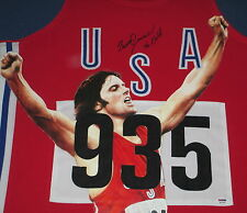 "Bruce Jenner ""Caitlyn"" Signed & Painted Custom Framed Olympic Jersey, Psa"