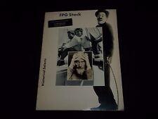 1988 Fpg International Catalog - Historical Selects - Stock Photography - F 1097