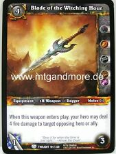 WoW - 4x Blade of the Witching Hour - Twilight of the Dragons